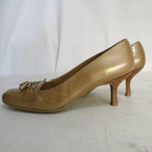 Stuart Weitzman Women's 9M Heels Tassel Gold